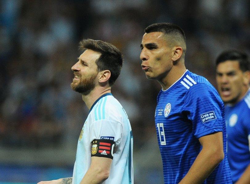 Argentina 1x1 Paraguai