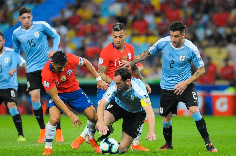 Uruguai 1x0 Chile
