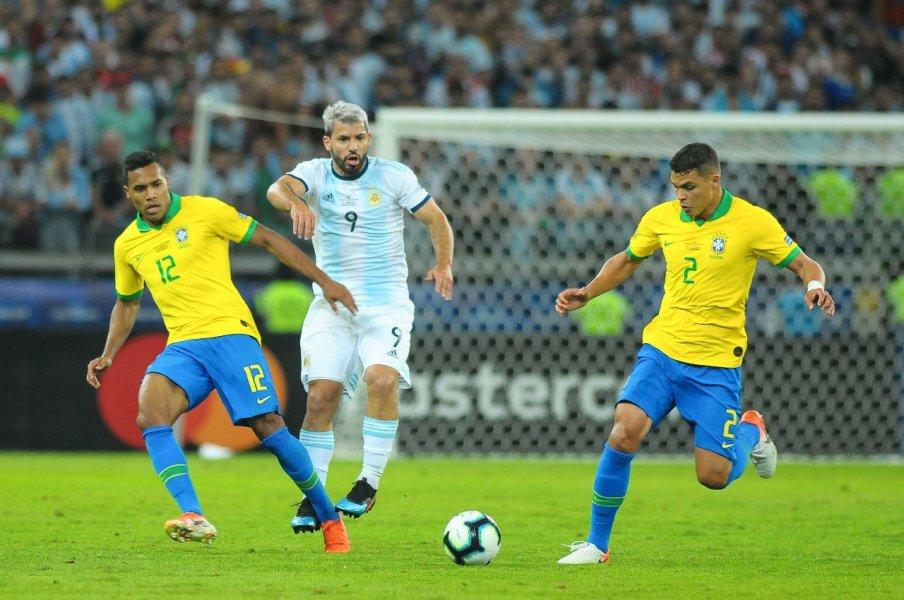 Brasil 2x0 Argentina