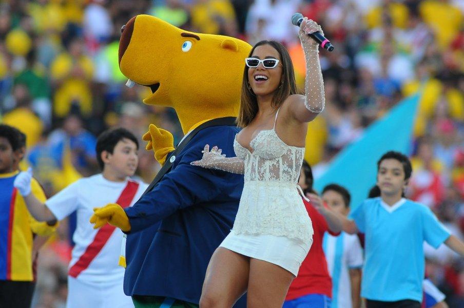 Cerimônia de Abertura - Final Copa América