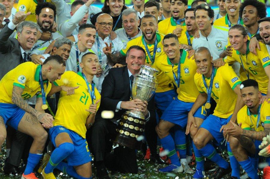 Comemoração - Brasil Campeão da Copa América