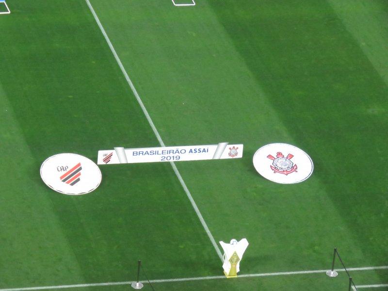 Corinthians 2x2 Athletico PR