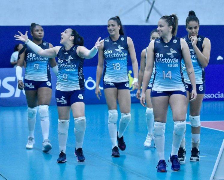 São Caetano 1x3 Osasco - Superliga Feminina
