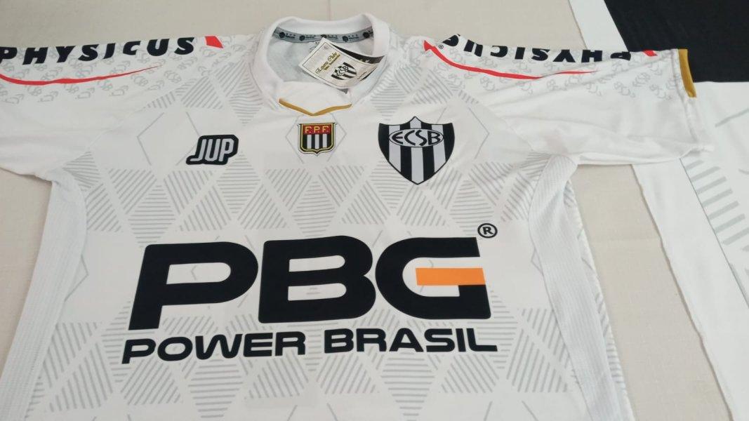 Apresentação - uniforme do EC São Bernardo 2021